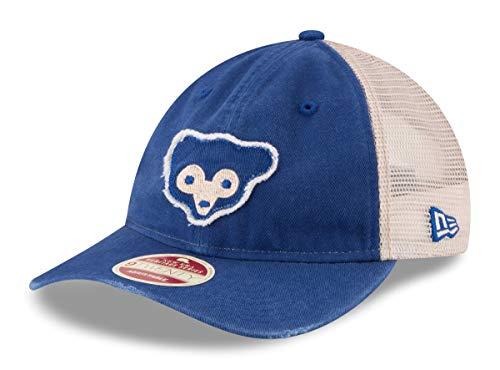 New Era Chicago Cubs MLB 9Twenty Cooperstown Frayed Twill 2 Mesh Back Hat - 1969