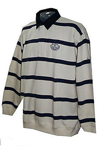 Greystone Herren Sweatshirt Troyer Poloshirt Übergrößen blau 4xl 5xl 6xl