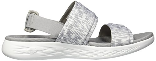 The On 600 go Skechers15309 Gris Mujer para Cgw4dSq