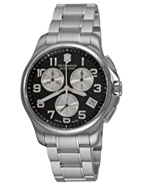Victorinox Swiss Army Officers Chronograph - Silver Subdials - Bracelet