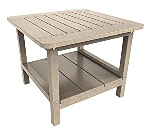 Malibu Outdoor Living Table, Medium, Sand