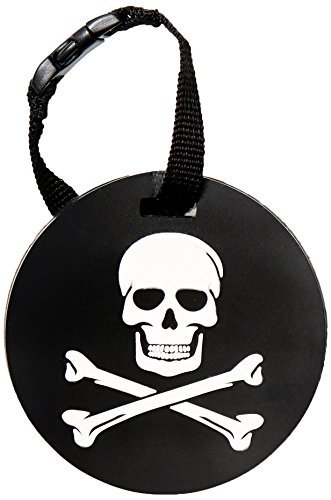 - 5ive Star Gear Jolly Roger Luggage Tags, Metal, One Size
