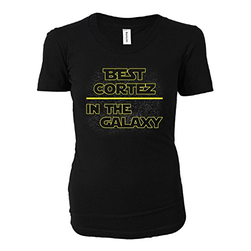 Best Cortez In The Galaxy. Awesome Gift - Ladies T-shirt Black Ladies 2XL