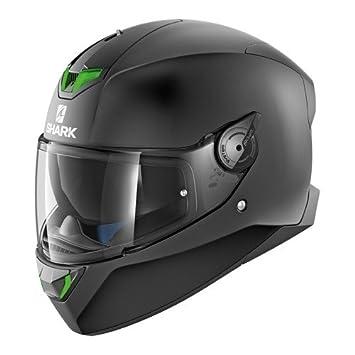 Shark SKWAL 2 en blanco mate motocicleta cascos, color negro, tamaño XS