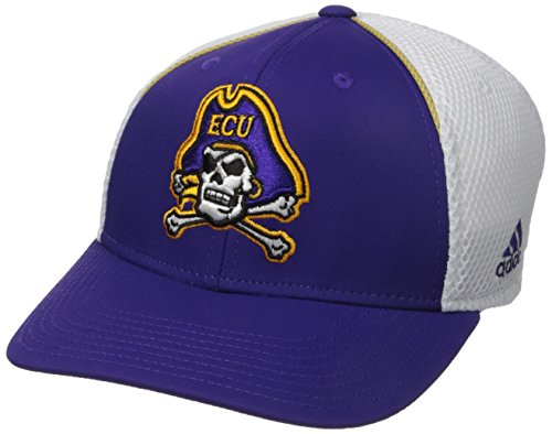 (adidas NCAA East Carolina Pirates Adult Men Spring Game Structured Adjustable Hat, One Size,)