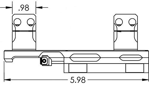 KDG Sidelok Cntlvr Scope Rng 34Mm Stock Accessories by KDG (Image #5)