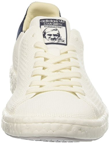 Primeknit Smith Stan footwear White White collegiate Uomo Sneaker Boost footwear Bianco Navy Adidas 5tqw6CUC