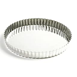Norpro 9.5 Inch Quiche Tart Pan with Removable Base