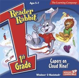 Reader Rabbit Capers On Cloud Nine Educational Computer [CD] [CD-ROM]