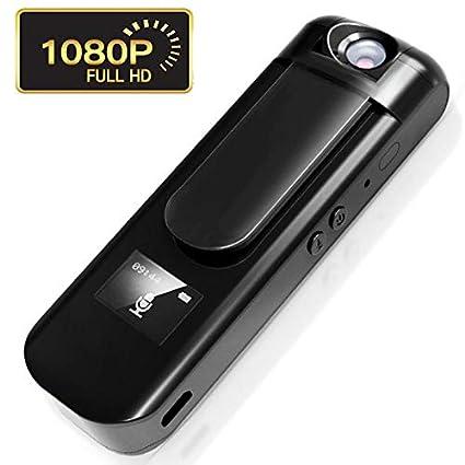 ZEERKEER Mini Grabadora de Voz con HD 1080p Cámara Oculta Reproductor de música MP3,cámara