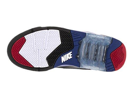 Nueva Fuerza Aérea 180 Zapatos Mediados de baloncesto del Mens 537330-002 Negro 8 M con nosotros Multicolor - White/Black/University Red