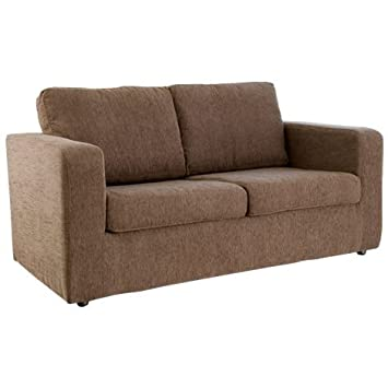 Worldstores Leigh Sofa Bed In Brown 2 Seater Sofa Bed Small