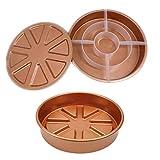 B Blesiya Checkerboard Round 9'' Cake Tin/Pan 3pcs/Set