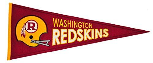 Nfl Pennant Wool - NFL Washington Redskins Throwback Pennant