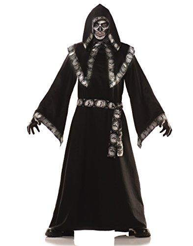Crypt Keeper Mens Costume, Black/Grey, Standard -