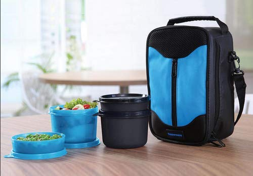 TP-990-T186 Tupperware Executive Lunch  With Small Bowls and