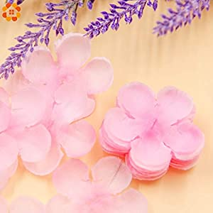 Flower Artificial Fake Flowers 500pcs Rose Petals Simulation Cherry Blossom Petals Wedding Petals Fake Artificial Flower Home and Wedding Decor 40