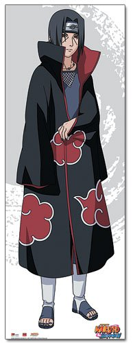 Great Eastern Entertainment Naruto Shippuden Itachi Wall Scroll, 24 by 66-Inch