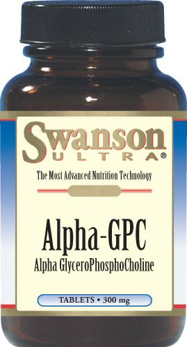 Swanson Alpha Gpc Alpha Glycerophosphocholine 300 mg 60 Tabs