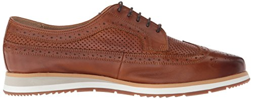 Florsheim Mens Flux Wingtip Oxford Saddle Tan