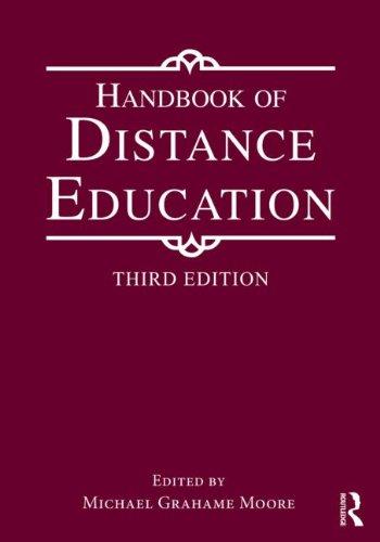 Handbook of Distance Education