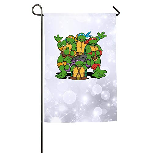(FOOOKL Ninja Turtle Home Family Party Flag 100 Hipster Welcomes The Banner Garden Flags)
