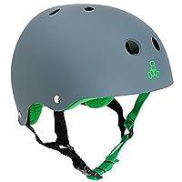Triple casco de ocho con forro protector de sudor, caucho de carbono, X-Large
