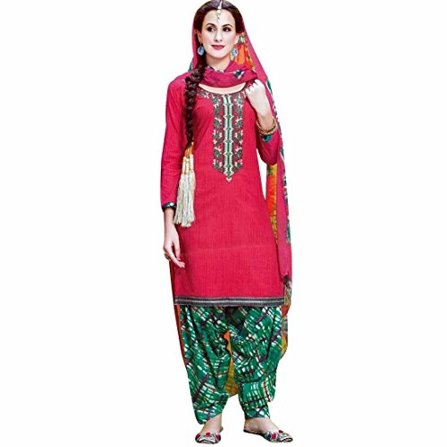 Ready-To-Wear-Cotton-Embroidered-Salwar-Kameez-Suit-Indian-Dress