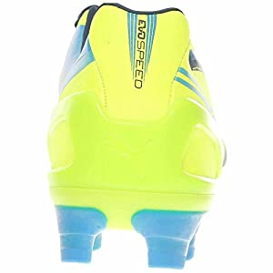 PUMA Women's Evospeed 3.2 FG Soccer Shoe,Fluorescent Yellow,7 B US