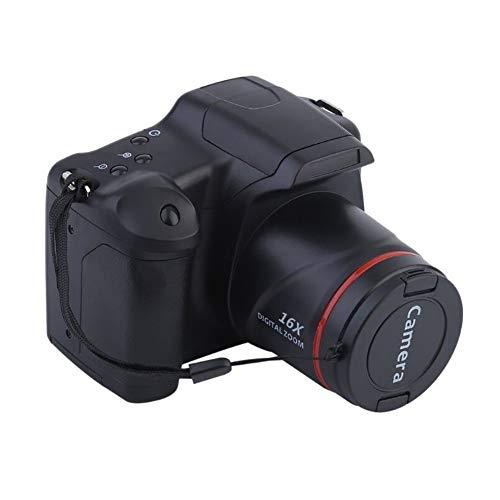 - Kyuccfrs Handheld 1280x720 2.4inch TFT 16X Zoom Digital Camera SD Card DV Video Camcorder - Black