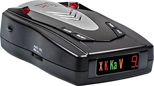 Whistler XTR-265 Laser Radar Detector: 360 Degree Protection, Icon Display, and Tone Alerts