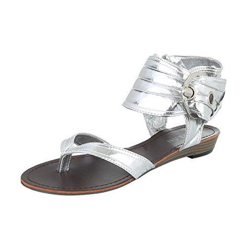 Femme design Ital Ital Spartiates design design Silber Silber Spartiates Ital Femme waC10pqz