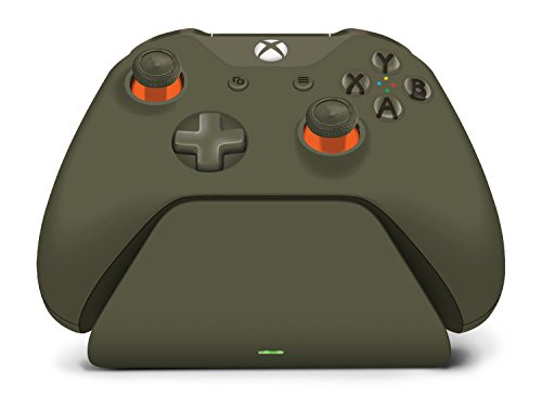 Controller Gear Officially Licensed Military Green Xbox Pro Charging Stand (Controller Sold Separately) - Xbox One