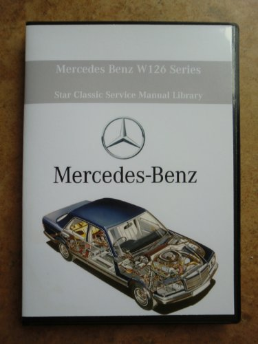 mercedes benz 380sel factory service repair shop manual cd