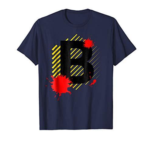 Queen Bee Letter B Halloween Costume T-Shirt