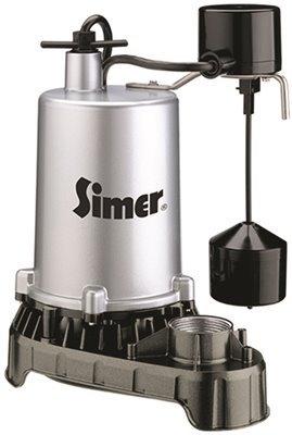 (Sta-Rite 4186 Pentair Water Pumps Submersible High Output Zinc Sump Pump, Vertical Switch, 1/2 hp, 10