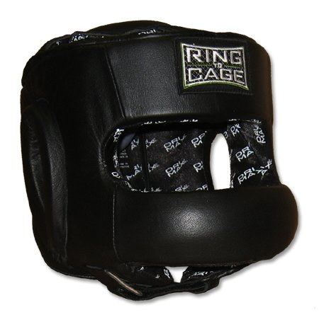Full Face Sparring Headgear for Boxing, Muay Thai, MMA, Kickboxing by Ring to Cage