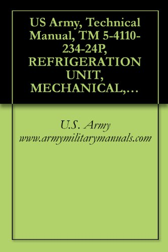 (US Army, Technical Manual, TM 5-4110-234-24P, REFRIGERATION UNIT, MECHANICAL, PANEL MT REFRIGERATOR, PREFABRICATED, ELECTRIC MOTOR DRIVEN, (KECO MODEL ... {TO 40R7-5-7-4}, military manuals)