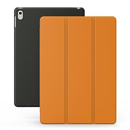 Super Slim Smart Cover Case for Apple iPad Pro 9.7 (Black) - 5