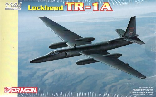 Dragon Models Lockheed TR-1A (U-2) Plastic Model Kit, Scale (144 Scale Plastic Kit)