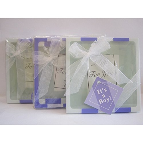 DISOK - Set 2 Posavasos Newbaby Azul
