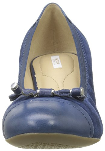 Geox Zapatillas Blue Ballet C4072 Floralie D Azul de A Mujer ra4rwP