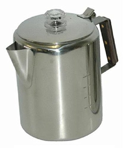 Chinook 41110 Coffee Percolator, 3 Cup, Stainless Steel by Chinook