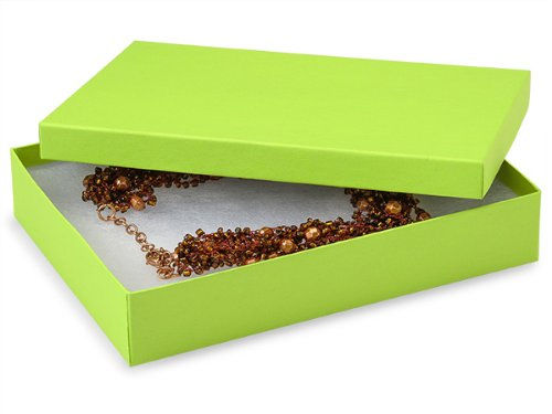 7x5x1-1/4'' Citrus Serenade Eco Tone Recycled Jewelry Boxes (Unit Pack - 100)