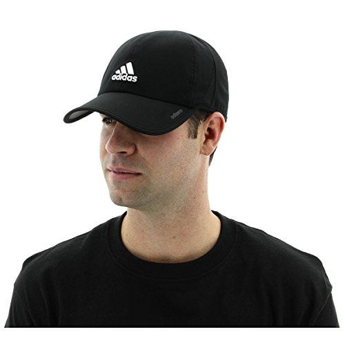 adidas Men's Adizero II Cap, Black/White, One Size