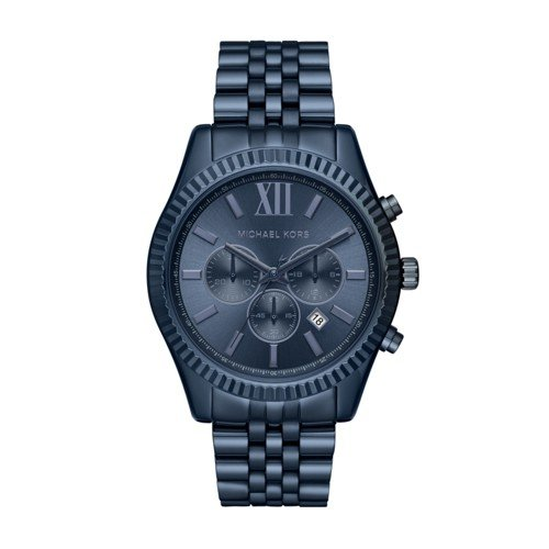 Michael Kors Men's Lexington Blue Watch - Michael Man Kors