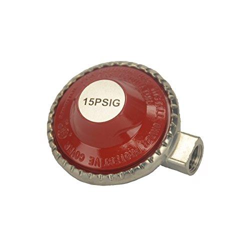 Hot Max 24215 High Pressure Replacement Propane Regulator, 15 PSI Fixed