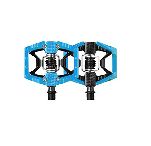Crank Brothers Egg Beater Pedals (Crank Brothers Double Shot Limited Edition Colored Pedals57, Blue/Black)
