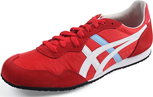 Onitsuka Tiger Serrano Sneakers, Size: 5.5 D(M) US, Color: Classic Red/White