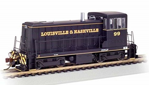 (Bachmann GE 70 Ton Diesel Louisville and Nashville 99 (Black and Yellow) Locomotive HO Scale, DCC On-Board )